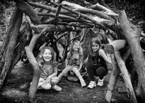 """Let's Make a Den"", Dunham Massey"